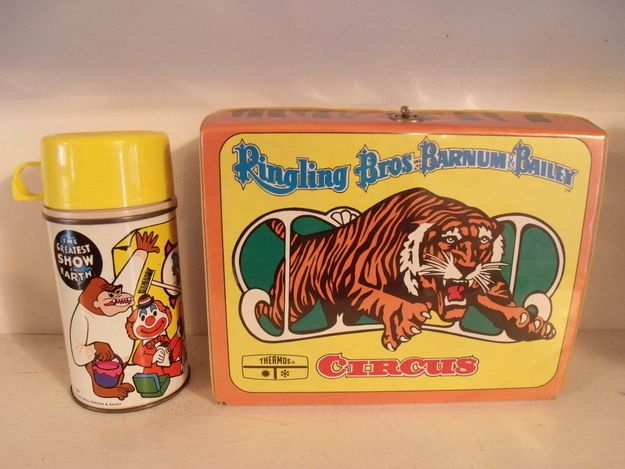 Ringling Brothers and Barnum Bailey Circus, $465.00 | 31 Lunch Boxes From The 1970s That Are Worth A Lot Of Money
