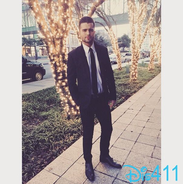 Photo: Spencer Boldman Dressed In A Suit January 3, 2015