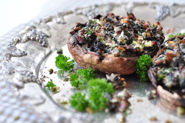 Fylld portobello med getost (tips för en godare helgmiddag)