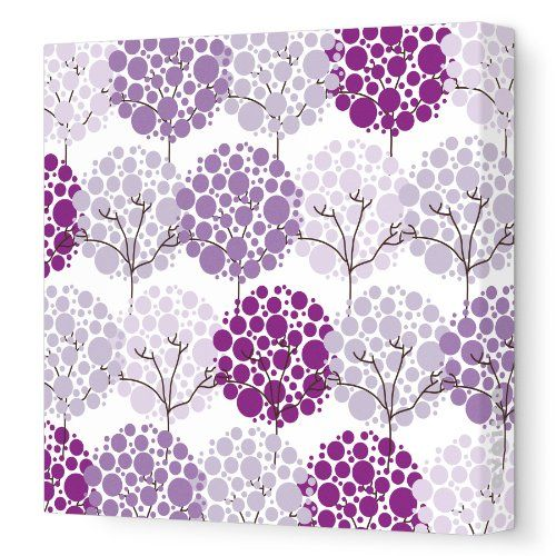 "Best Buy Avalisa Stretched Canvas Nursery Wall Art, Park, Purple Hue, 18"" x 18""... Visit Site or click on the image for more details, reviews and price comparison."