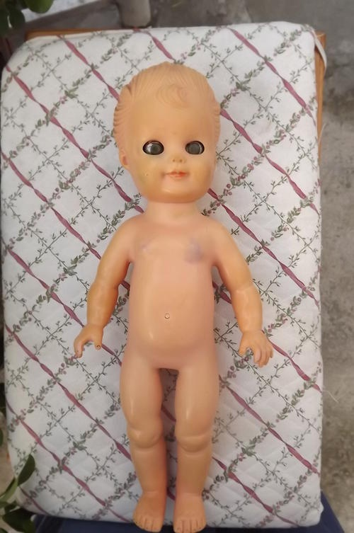 Solid Rubber Doll (1950's): Doll 1950 S, Dolls Tiny Cuties, Solid Rubber, Vintage Toys, Rubber Dollies