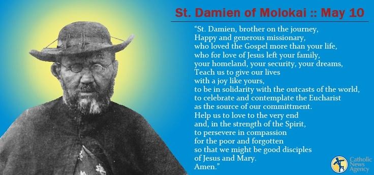 St. Damien of Molokai, pray for us!