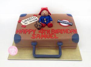 Paddington bear cake