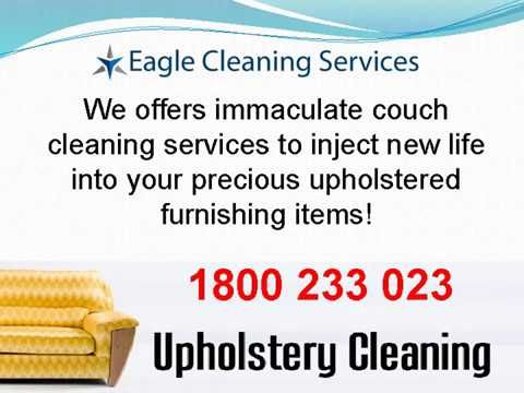 At Eagle Cleaning Services, we know the value of your upholstery and your hard-earned money being spent on upholstery cleaning