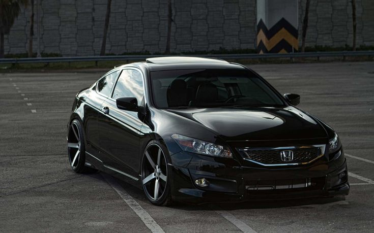 2014 Black Honda Accord HD Wallpaper