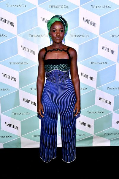 Actress Lupita Nyong'o attends the Vanity Fair and Tiffany & Co. private dinner toasting her Lupita Nyong'o September 11, 2016 in Toronto, Canada