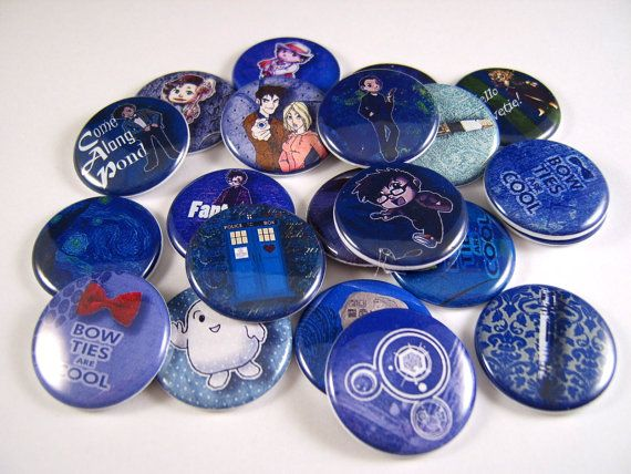 Hey, I found this really awesome Etsy listing at https://www.etsy.com/listing/150381069/1-flat-back-dr-who-buttons-12-count