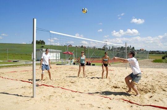 Beachvolley in Hotel Kaskady  #luxury #holiday #hotel #kaskady #freetime #volleyball #play #sport