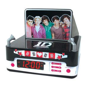 "One Direction Alarm Clock. It better play ""Its Time To Get Up In The Morning"""