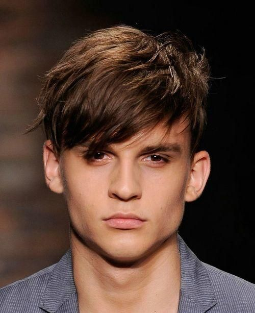 Hairstyles Men Square face