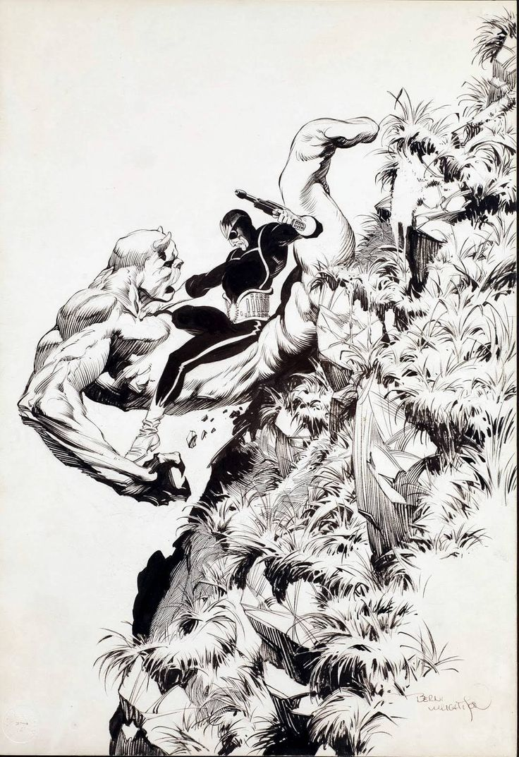 StarLord by Bernie Wrightson.