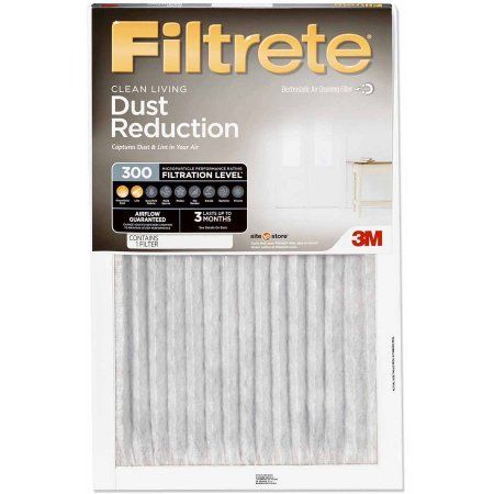 Filtrete 300 Dust Reduction Air and Furnace Filter Available in Multiple Sizes