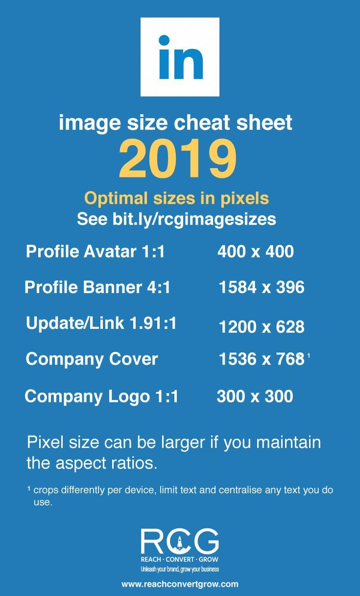 The Ultimate Social Media Cheat Sheet Image Sizes For 2020