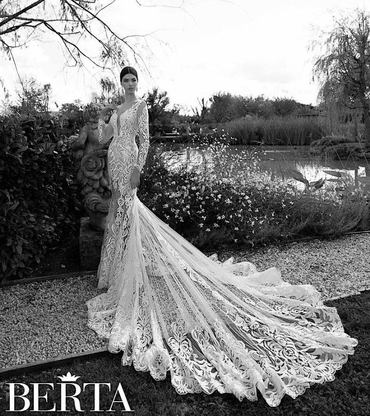Elegantly Sexy Berta Wedding Dresses 2015 - MODwedding