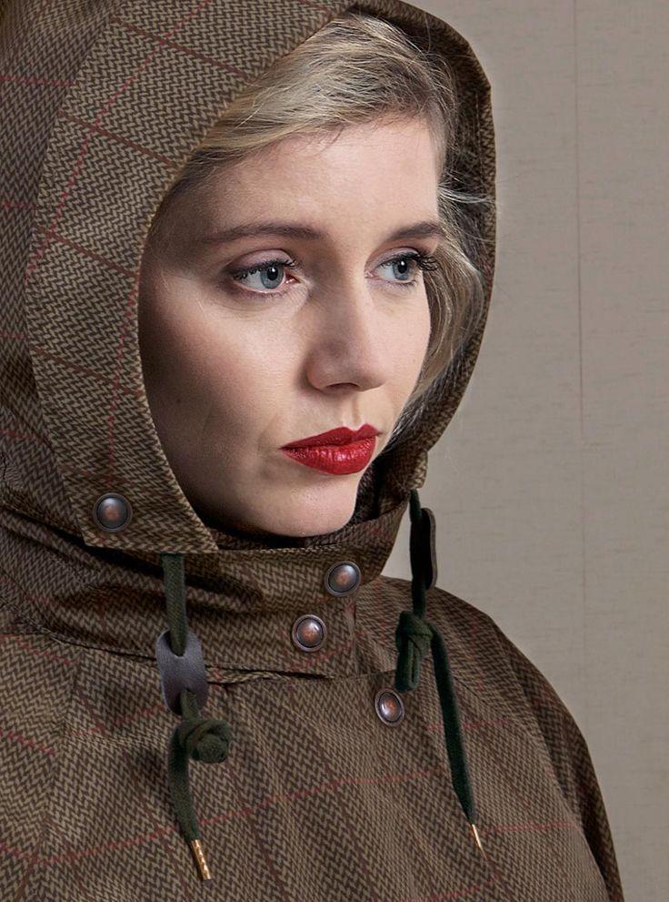 WATERDICHT Amsterdam  Straincoat Classic, stylish raincoat Hood: detachable and adjustable to a Fisherman's hat