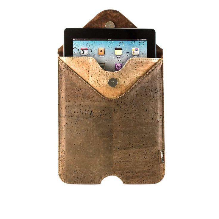 Cork IPad Case Sleeve.