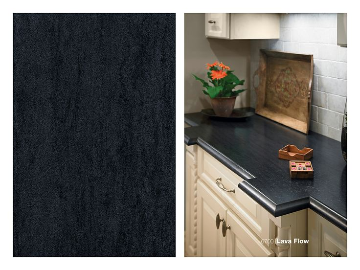 Formica Laminate 6700 Lava Flow On A Kitchen Counter