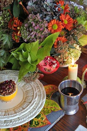 The colors and flavors of fall are so welcome at any Thanksgiving table