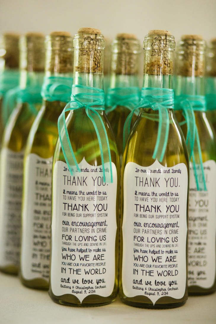 7 Wine Wedding Favors We Love | Photo by: The Story Photography | TheKnot.com