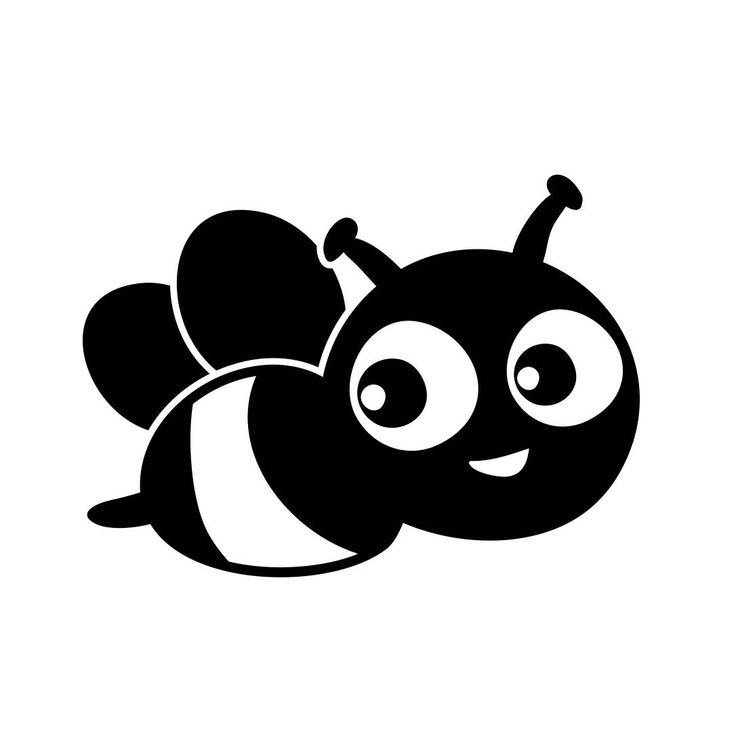 Animals 13 pinterest cute bee bug graphics svg dxf eps png cdr ai pdf vector art clipart instant download voltagebd Images