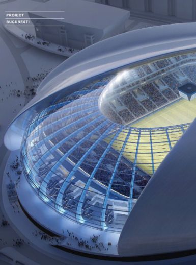 Craiova Stadium, Proiect Bucuresti, world architecture news, architecture jobs