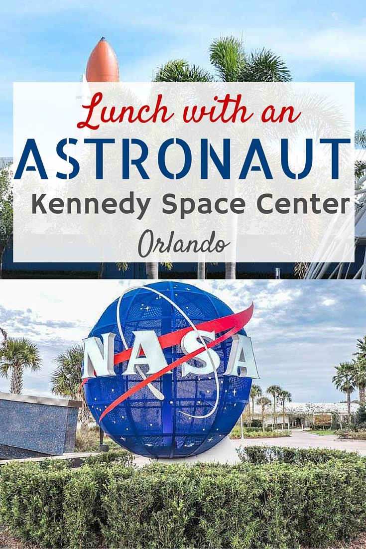 Kennedy Space Center Florida | Lunch with an astronaut