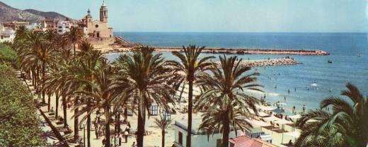 Foto de 1962 de Sitges