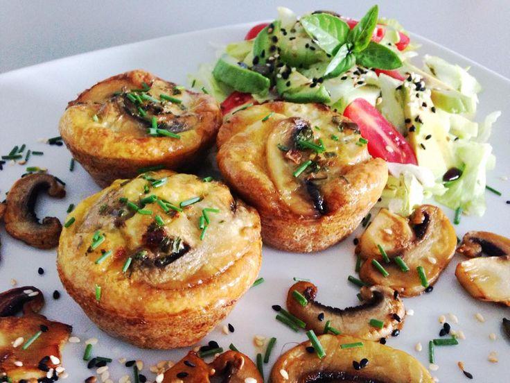 Sampionove muffiny so zeleninou