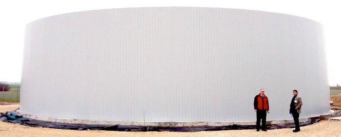 Octaform forms and protects your tanks from intensely corrosive  Anaerobic Digestion environments.