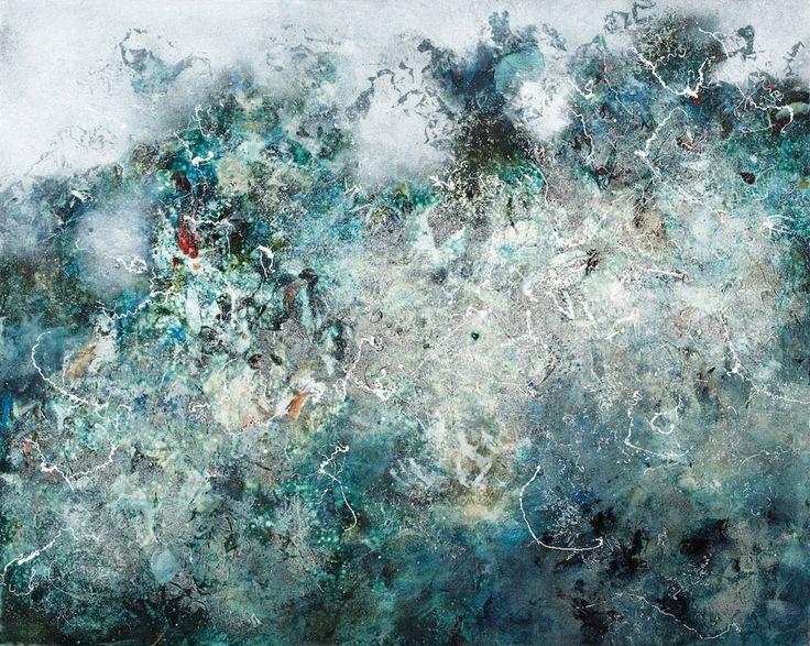 Modern ArtBuyer: Dynamic Fusion by Ione Parkin RWA