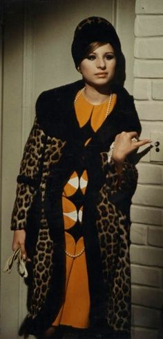 Barbra Streisand as Fanny Brice in Funny Girl 1968