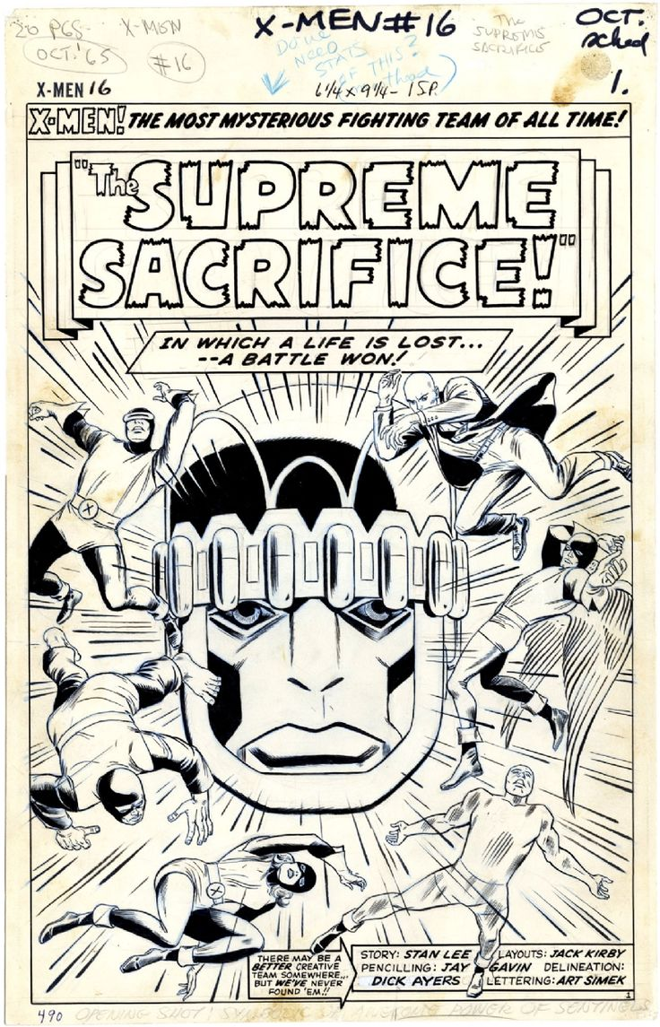 best images about title pages dan green x men 16 page 1 comic art title page by jack kirby