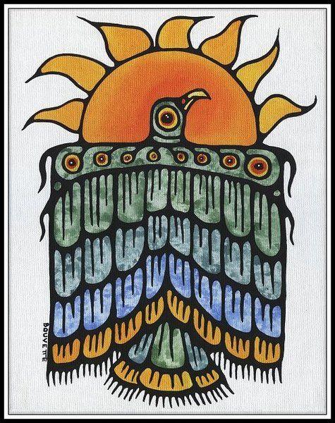 Ayla Bouvette - Metis Art - Summer Messenger of Warmth
