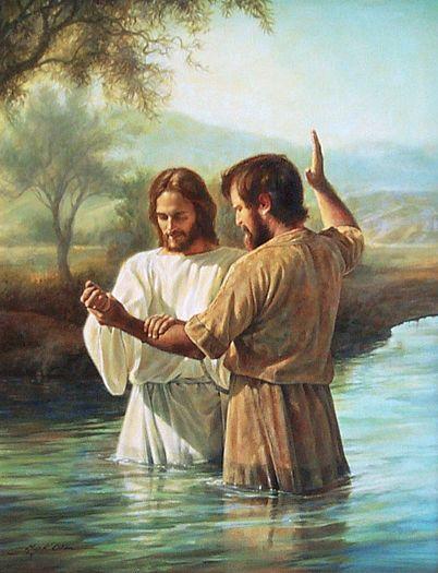 Baptism of Jesus -Greg Olsen                                                                                                                                                                                 Mais