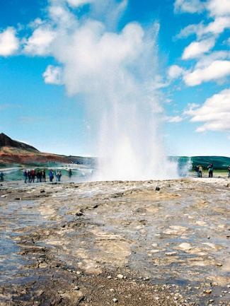 Iceland's famous Geysir. #moremagazine. http://www.more.com/entertainment/food-travel/iceland-adventure#