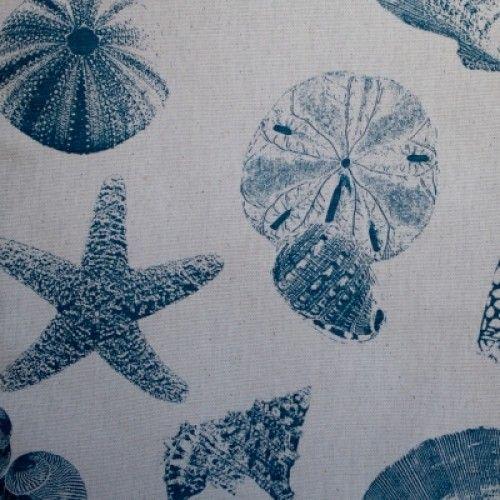 Blue Shells - Futon Cover - Tropical & Coastal - Futon Covers