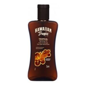Aceite Bronceador Dark Hawaiian Tropic Tanning Oil 0.        Intensifica deliciosamente el bronceado de pieles con un buen bronceado de base. La piel se mantiene sedosa al tacto, tersa e hidratada todo el día.    Es Hipoalergénico, especial para las pieles sensibles.        Precio: 7,67€    Precio + 6uds: 7,29€/Ud        BuyByPrice.es