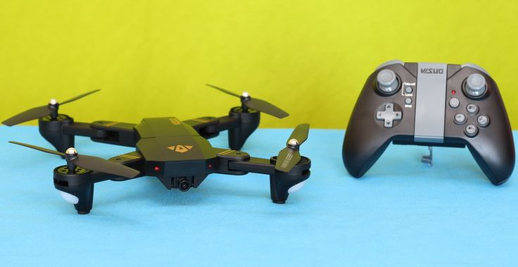 VISUO XS809HW quadcopter in-depth review. This Mavic clone comes with foldable arms and lots of features. VISUO XS809HW is a nice cheap drone for newbies.