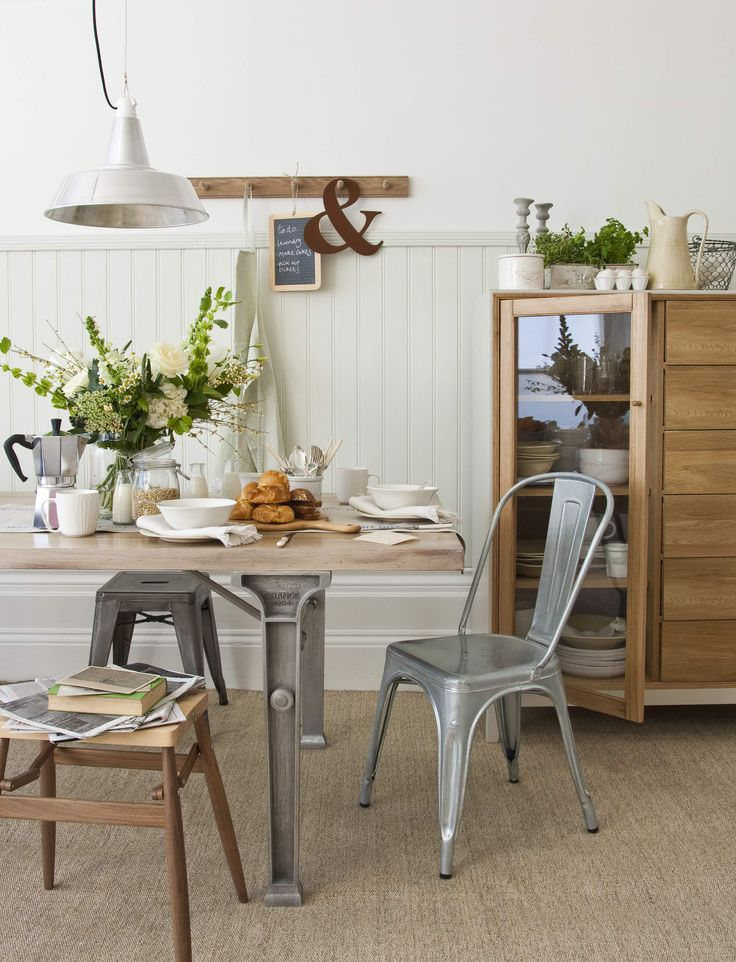 RUSTIC INDUSTRIAL KITCHEN GOODHOMES MAGAZINE JUNE 2011 STYLING EMMA CLAYTON PHOTOGRAPHY DAVID CLEVELAND