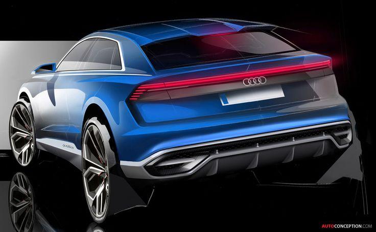 Audi Reveals 'Near-Production' Q8 Concept in Detroit
