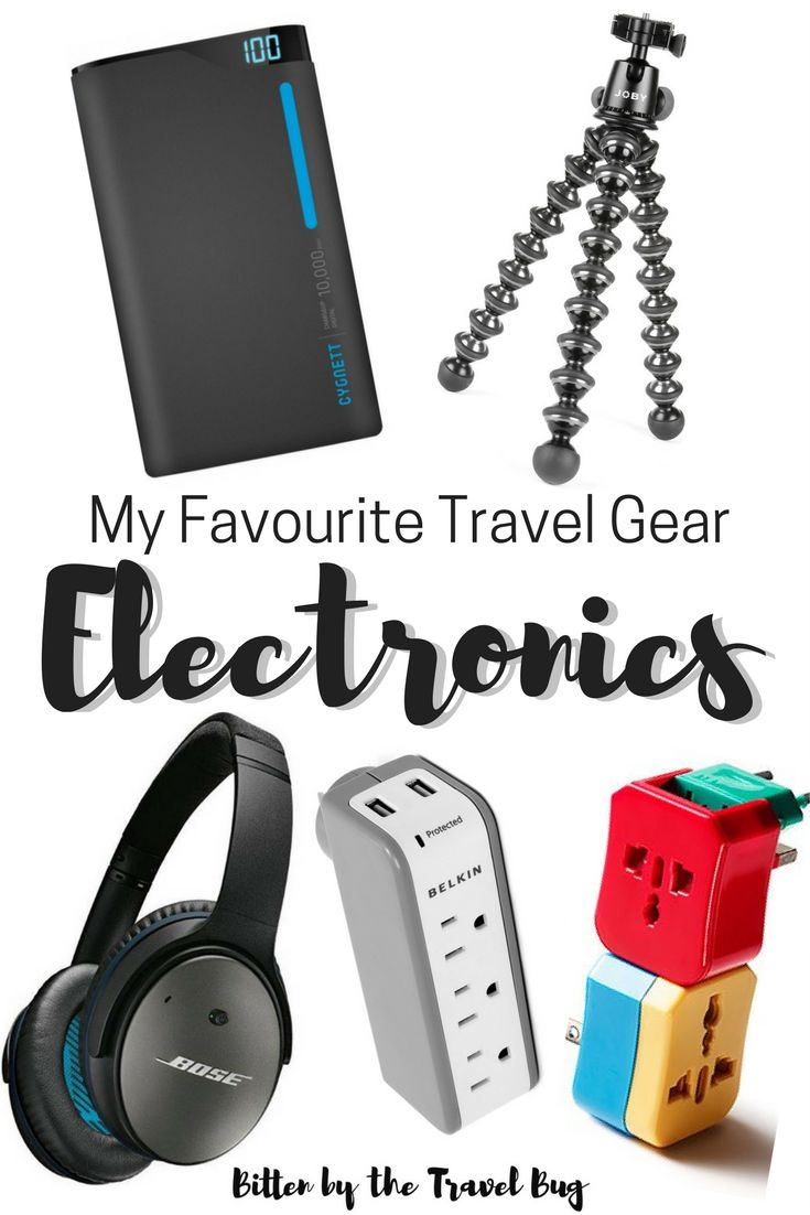 Want to know the best travel electronics? I'm sharing a list of my favourite travel electronics which has been tried and tested over the past five years that is both practical and functional.