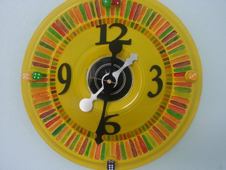 7 best Arty Clocks images on Pinterest | Altered art, Clock and Clocks