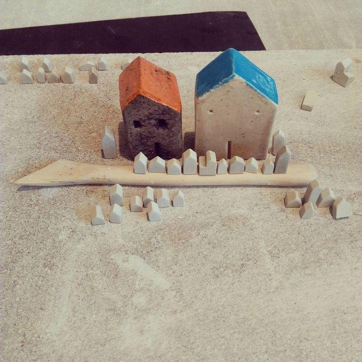 Minik evler #miniature #tinyhouse #ceramics