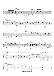 Guitarra y Música: ALMA CORAZON Y VIDA 2(Solo de guitarra)