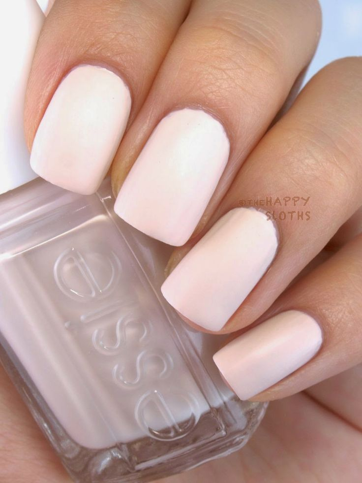 1000 Ideas About Matte White Nails On Pinterest White