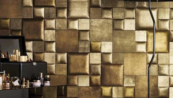 Leather Wall Tiles And Decorative Paneling Adding Chic Wall Designs To Modern Interiors