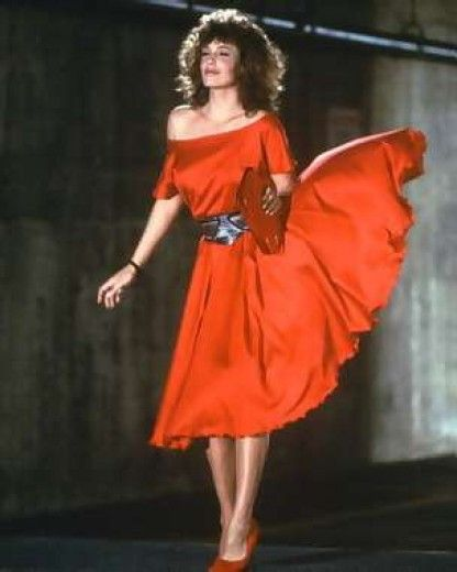 The woman in red, USA 1984, director: Gene Wilder, scene with: Kelly LeBrock