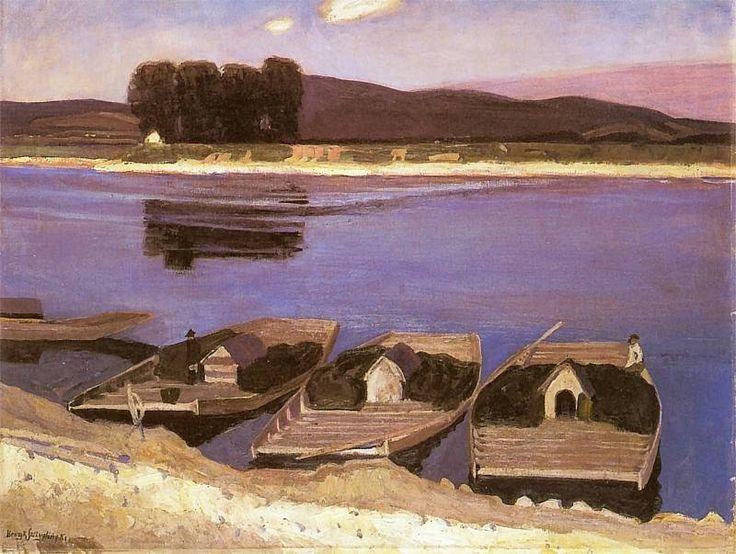 """""""Galary na Wiśle"""", Poland, Henryk Szczygliński, 1861-1944"""