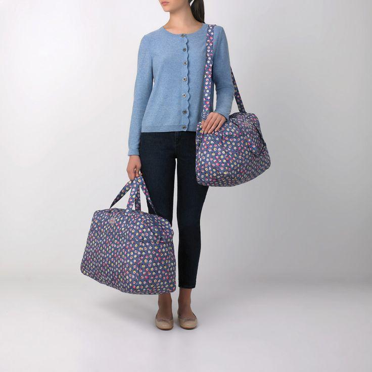 Cotton Ditsy Foldaway Weekender Bag | Under £40 | CathKidston