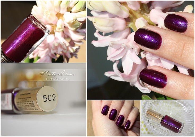 Purple Mood: L'Oreal Color Riche- 502 Purple Disturbia - Katynel
